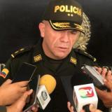 General Ricardo Alarcón Campos, comandante de la Policía Metropoliatana de Barranquilla.