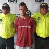 Geovany Acevedo Palma, alias Piraña, capturado.