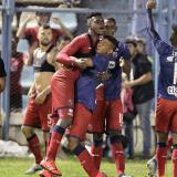 Así festejó Medellín su paso a la fase de grupos de la Libertadores.
