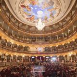 Asistentes en el Teatro Adolfo Mejía en la versión del 2019