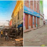 Entregan nuevos puestos a vendedores y recuperan espacio público en el centro