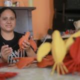 Eleany Escorcia, artesana de Usiacurí.