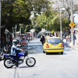 Calle 78 con carrera 21B del barrio La Manga, donde se registró el accidente.