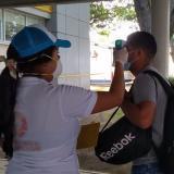 Montería intensifica controles en el aeropuerto Los Garzones por coronavirus