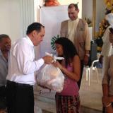 Banco de alimentos recibe donaciones para enfrentar crisis