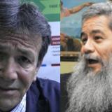Los exguerrilleros Felipe Torres y Francisco Galán.