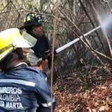 En video | Tigrera, en la Sierra Nevada de Santa Marta, sigue ardiendo