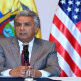 En la imagen, el presidente de Ecuador, Lenín Moreno.