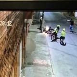 En video | Enfrentamiento a bala dejó un policía y un presunto delincuente heridos