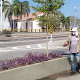 Siembra Barranquilla adelanta mantenimiento de zonas verdes durante la cuarentena