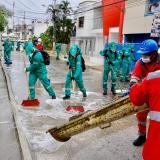 De esta forma se llevan a cabo las jornadas de limpieza en Sincelejo.