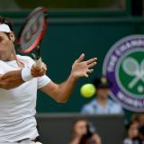 El suzo Roger Federer, ocho veces campeón del Torneo de Wimbledon.