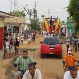 En video   Procesión de El Milagroso salió por sus fieles en San Benito, Sucre
