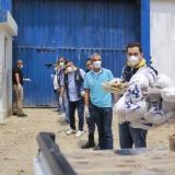 Blel lleva ayudas a cárcel La Ternera y hogares Claret