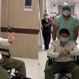 En video | Estoy inmunizado y resistente, dice el médico oftalmólogo Luis Escaf