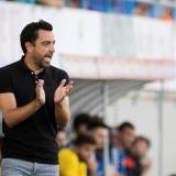 """""""Me veo capacitado para entrenar al Barcelona"""": Xavi Hernández"""