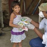 """Fedegan – FNG realiza """"Ruta Blanca de la Esperanza"""", entregando 200 mil kits lácteos en el país, para mantener niveles nutricionales durante aislamiento preventivo."""