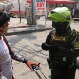 Policía inmoviliza 22 motos de conductores que violaron la cuarentena en Sincelejo