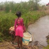 Comunidad de Puerto Giraldo, en el oriente del Atlántico, clama por el servicio de agua