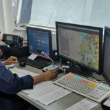 Control al ingreso de embarcaciones desde el puerto de Cartagena.