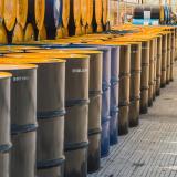Barril de petróleo Brent baja un 25,45%, a USD19,07