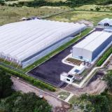 Vista aérea de la sede de Khiron en Bogotá.