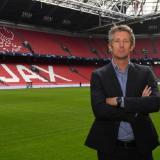 Edwin Van der Sar, director general del Ajax.