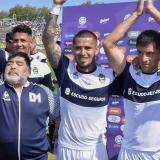 Gimnasia y Esgrima de La Plata, el equipo que dirige Diego Armando Maradona, estaba en zona de descenso.