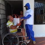 Electricaribe distribuye ayudas entre las personas más vulnerables de la región Caribe