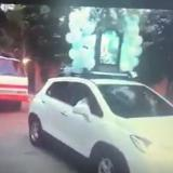 En video   Con papayera, procesión a la virgen en Pijiño en pleno aislamiento