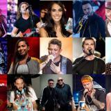 Algunas de las estrellas que participarán del festival virtual.