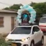Sacerdote responde ante polémica procesión en medio de pandemia