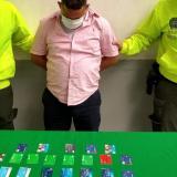 Cae presunto delincuente informático con 27 tarjetas débito en Ciudadela 20 de Julio