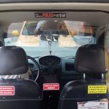 En video   Taxistas en Barranquilla se protegen con cabinas antivirales