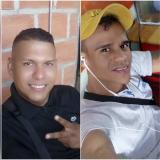 Óscar Martínez, de 28 años, y Nelson Merino, de 29, asesinados.