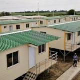 Entregan casas en medio de la pandemia en Sucre