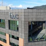 Fachada de la Bolsa de Valores de Colombia.