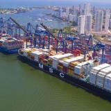Puerto de Cartagena, uno de los más dinámicos del país en el comercio exterior con Estados Unidos.