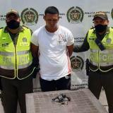 A Jhonatan de Jesús Tapia Calderón, de 23 años, lo capturaron en el barrio San Felipe de Barranquilla.