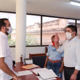 Luis Gabriel Degiovanni, realizó la designación de su secretario de Desarrollo Económico e Inclusión Social