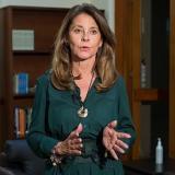 Martha Lucía Ramírez, vicepresidenta de la República.