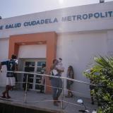 Fachada del Hospital Materno Infantil en el barrio Ciudadela Metropolitana.