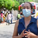 Liceth Escobar, secretaria de Salud de Baranoa.