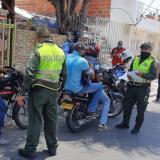Controles al Pico y cédula en barrios de Cartagena.