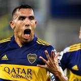Carlos Tévez, estrella de Boca Juniors.