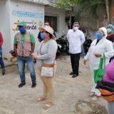 Avanza cerco epidemiológico en seis barrios de Cartagena