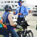 Control del DATT al pico y cédula en Cartagena.