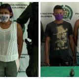Capturan a presuntos extorsionistas de comerciantes en Barranquilla