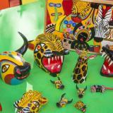 Muestra de artesanías realizadas en Galapa