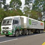 Tractocamión de OPL, una de las empresa que ha liderado la transformación de carga pesada a gas natural en el país.